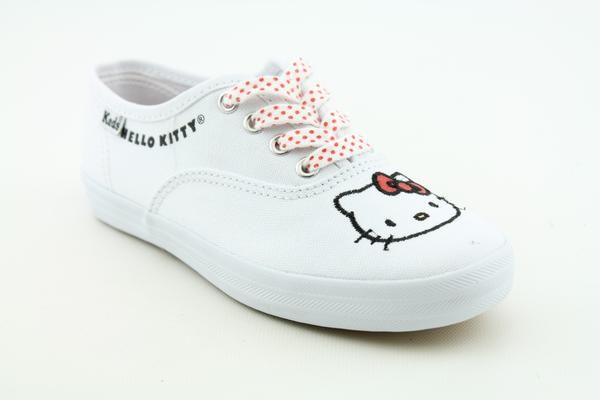 CVO Hello Kitty Youth Kids Girls SZ 13 White Shoes 044214123865