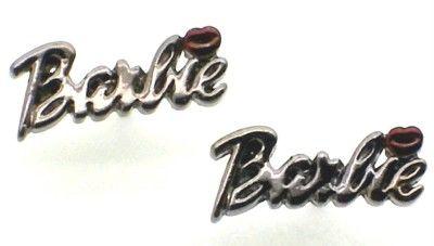 New Hematite Stone Barbie Nicki Minaj Stud Earrings