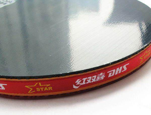 DHS Ping Pong Paddle 2 Balls Set 4 Star Professional